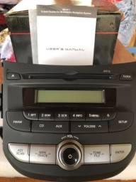 Central Multimidia Radio Som Cd Players Hb20 Original NOVO