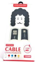 Cabo USB Carregador Para Celular H?Maston iPhone - Loja Minichina