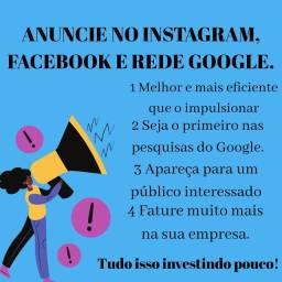 Aumente suas vendas com anúncios online em Redes Sociais, Google e YouTube.