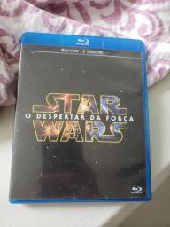 Star Wars- O Despertar da Força - blu-ray duplo