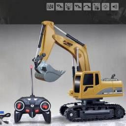 Trator Maquina Escavadeira Controle Remoto -NOVO