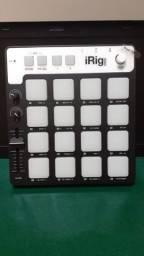 Controlador Midi De Grooves Ik Multimedia Irig Pads