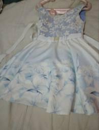 Vestido infantil 3 anos , marca paraíso