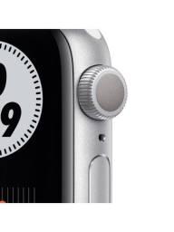 Relógio Apple Watch Série 6 40mm Nike Silver Gps Lacrado