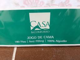 Jogo Cama Casal 4 peças Andreza - Shoptime