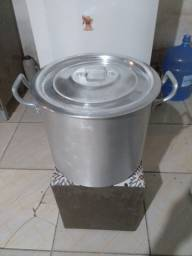 Panela Alumínio Grosso 30L