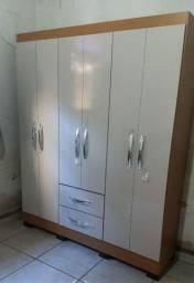 Guarda roupa novo 6 portas (entrego grátis)