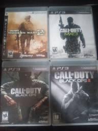 Jogos Call of Duty PS3 original