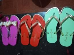 Sandálias arraso Brasil personalizadas