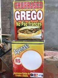 Vendo carrinho de churrasco grego
