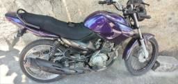 Vendo Moto YBR Factor 125cc 2012 Roxa