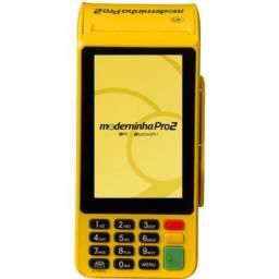 Máquininha de cartão Moderninha Pro 2 do Pag Seguro
