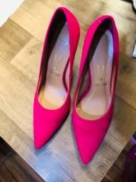 Scarpin rosa pink Vizzano