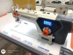 Reta eletrônica com corte de linha automática