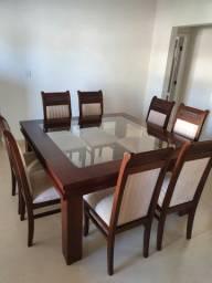 Mesa 8 lugares com cadeira