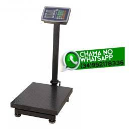 Entrega Grátis * Balança Digital Plataforma 150Kg * 30x40cm * Chame no Whats