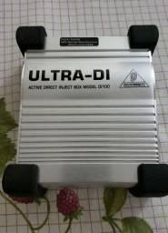 Direct box Ativo Behringer Ultra di100