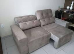 Sofa julia Retratil e reclinável
