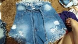 Short e calça