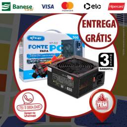 Fonte PC 500w Real