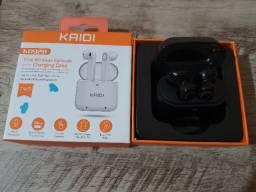 Fone Bluetooth Kaidi D928, Novo Sem Uso!