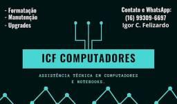 ICF Computadores, Formatação completa somente $40,00