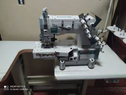 Máquina industrial elastiqueira Siruba