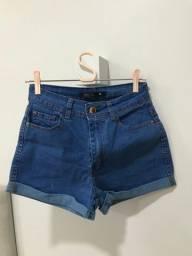 Short jeans Blue Steel tamanho 38