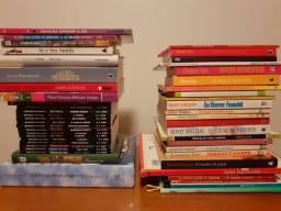Livros,  cada um R$ 10,00