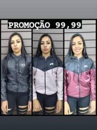 Jaqueta Corta Vento - Mega Promoção - Fazemos Entrega
