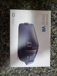 Óculos de realidade virtual gear VR junto com o Dex Statio