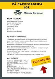 Pá Carregadeira MF 65R Vender Rápido SC Trabalhando normalmente 23mil