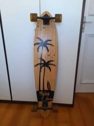 Longboard Skate - Feito de bambu