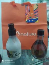 Kit Natura Combo Ekos Priprioca Hidratante + Água de Banho