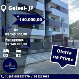 Apartamento no Geisel 02 quartos e suíte, Promoçao