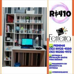 Título do anúncio: 56. Promoção Kit Escritório = Mesa+Nicho+Prateleira+Torre :)