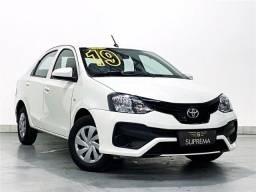 Título do anúncio: Toyota Etios 1.5 X Sedan 2019 automático Com Multimídia