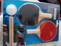 Brinquedo Kit Raquete Ping Pong