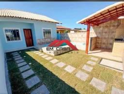 ?A.M.R$ 250.000,00 Casa em Unamar?lado praia?3 Qtos (EM3781). Medeiros