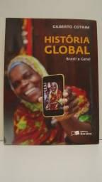 Livro História Global Brasil e Geral- Volume Único ( Gilberto Cotrim )