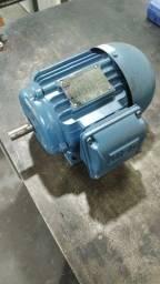 Motor trifásico 2 CV WEG  alta rotação