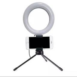 Ring Light c/ Suporte Celular