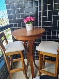 Banquetas com mesa Bistrô