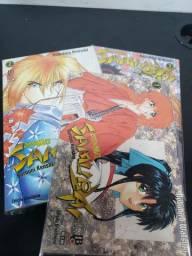 Samurai x volumes 01, 02 e 03. Mangá Jbc