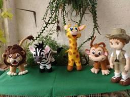 Safári esse é um dos temas mais usados em festa e decoração de quarto infantil