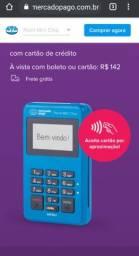 Maquineta Point Mini Chip - A Máquina De Cartão Do Mercado Pago