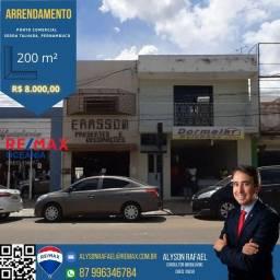 ARRENDO/ALUGO Ponto Comercial Rua 15 - Serra Talhada-PE
