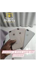 IPhone 8 Plus Vitrine Gold e Silver 64GB