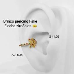 Brinco piercing Fake ;+)