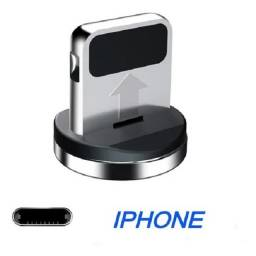 "Cabo Led Magnético Carregador ""Iphone"""